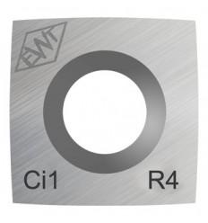 Plaquita metal duro Ci1-R4 (1400)