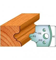 690012 - 2 cuchillas + 2 contracuchillas